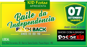 Baile da Independência no kid Festas